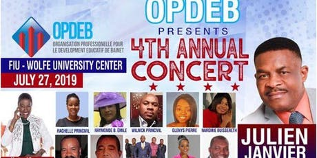 OPDEB 4th Fundraising Concert tickets