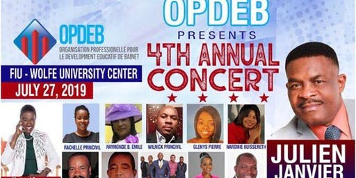 OPDEB 4th Fundraising Concert