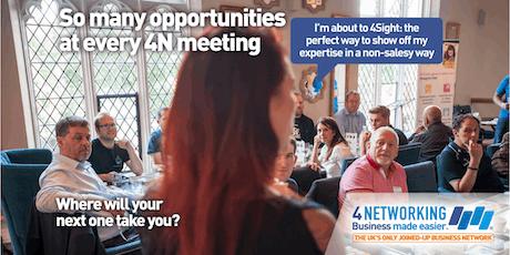 4N Networking Falkirk 23rd July 2019 tickets