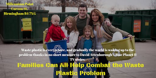 Free Event – How Families Can All Help Combat the Waste Plastic Problem, And Get Paid For Doing It…
