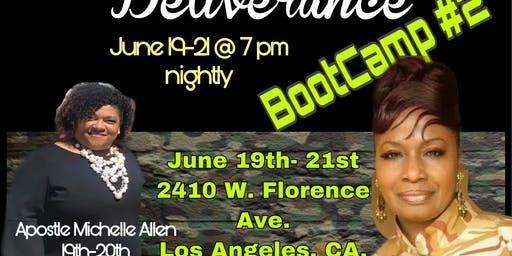 Spiritual Warfare & Deliverance Bootcamp #2