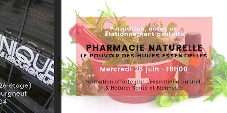 Formation Pharmacie naturelle-Le pouvoir des huiles essentielles billets