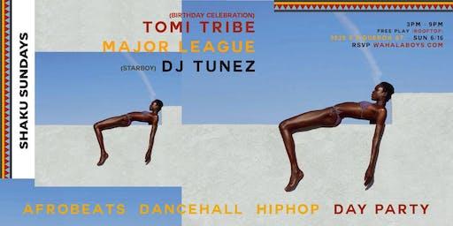 SHAKU SUNDAYS (AFROBEATS & MORE ROOFTOP PARTY) w/ DJ TUNEZ