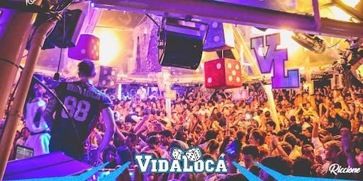 Domenica 11 Agosto Vidaloca Villa delle Rose Riccione