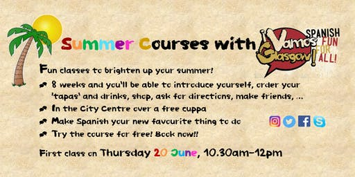 Spanish Summer Course - Morning Group