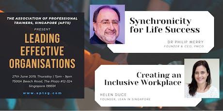 APTS Workshops: Leading Effective Organisations tickets