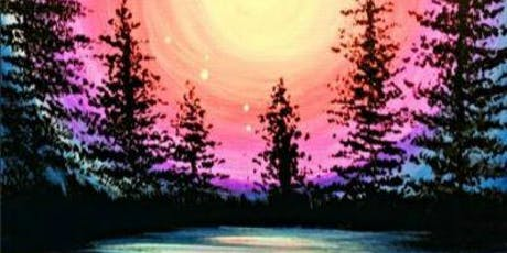 Paint Wine Denver Majestic Moonlight Tues July 23rd 6:30pm $30 tickets