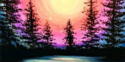 Paint Wine Denver Majestic Moonlight Tues July 23rd 6:30pm $30