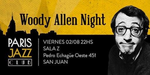 Woody Allen Night en Sala Z (San Juan)