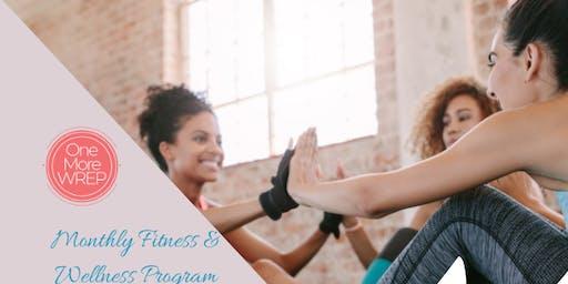August Health & Wellness Program (3rd, 17th, 24th, 31st)