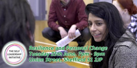 Resilience and Personal Change tickets