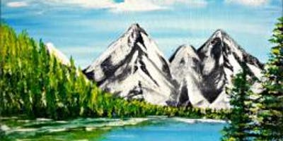 Paint Wine Denver Glacial Lake Mon July 8th 6:30pm $30
