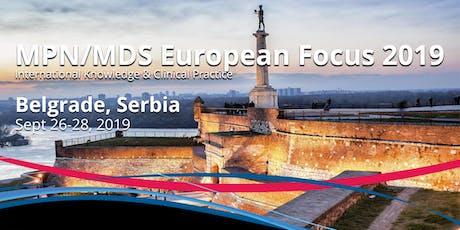 MPN-MDS European Focus, 26-28 September 2019, Belgrade, Serbia tickets