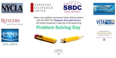 Tax Problem Solving Day-June 19@ BCC-Meadowlands