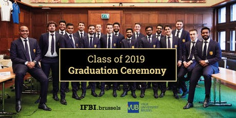 IFBI Class of 2019 Graduation Ceremony billets