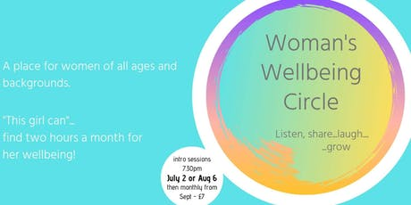 Woman's Wellbeing Circle intro sessions tickets