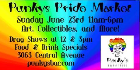 Punky's Pride Market tickets