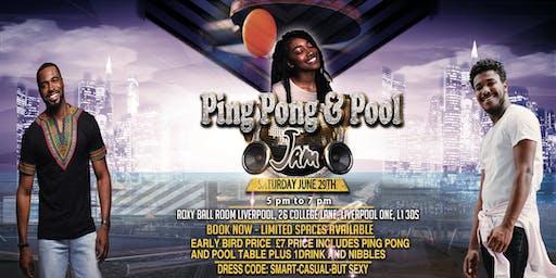 Ping Pong & Pool Jam
