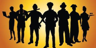 Public Servant Party - Recognition Police, Fire, Teachers, etc.