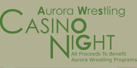 Friends of Aurora Wrestling Casino Night 2019 tickets