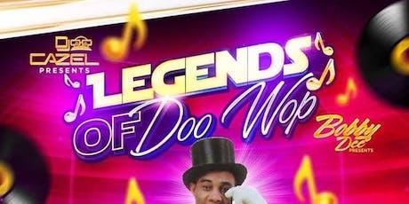 The Legends of Doo Wop tickets