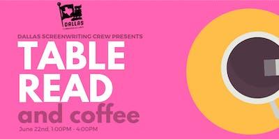 Table Read & Coffee - Dallas Screenwriting Crew