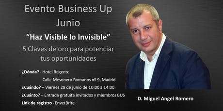 Evento Business Up Madrid Junio entradas