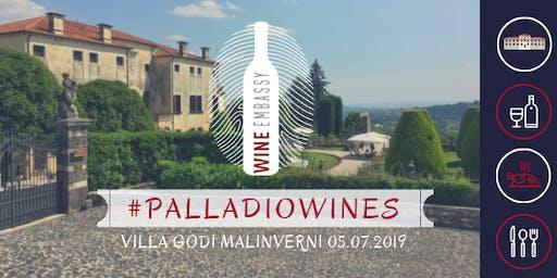 #PALLADIOWINES - VIlla Godi Malinverni 05.07.2019