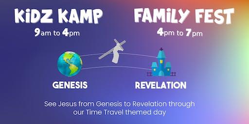 Kidz Kamp and Family Fest