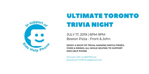 Ultimate Toronto Trivia Night
