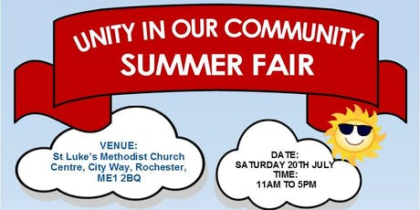 Medway Community Summer Festival tickets