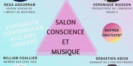 Salon Conscience et Musique billets