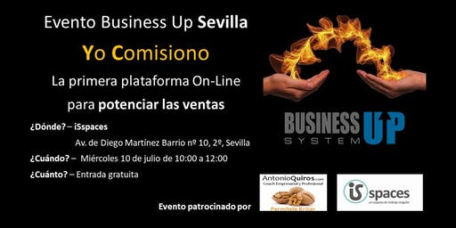 Evento Business Up Sevilla Julio