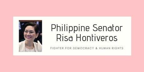 Sen Risa Hontiveros Community Forum tickets
