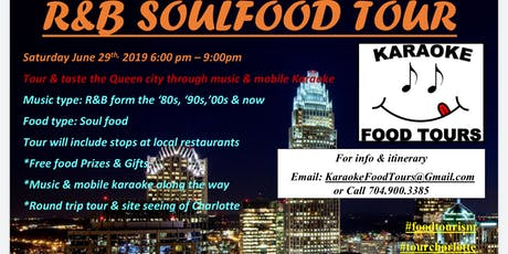 The R&B Soul Food Tour 6/29 -  Seat Reservation tickets