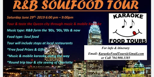 The R&B Soul Food Tour 6/29 -  Seat Reservation