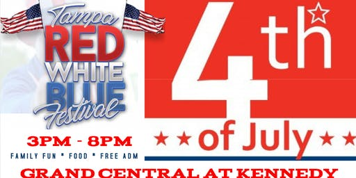 Tampa Red White & Blue Fest presented by Blue Bunny Icecream (FREE ENTRY )