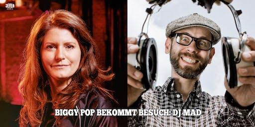 DJ BIGGY POP BEKOMMT BESUCH: DJ MAD (BEGINNER)