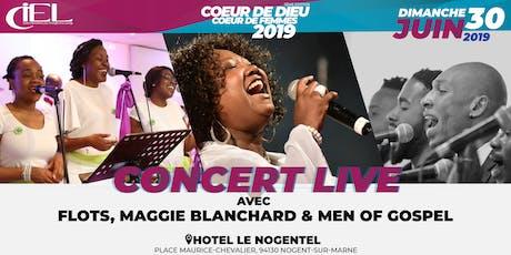 Concert Gospel LIVE avec FLOTS, Maggie Blanchard & Men of Gospel billets