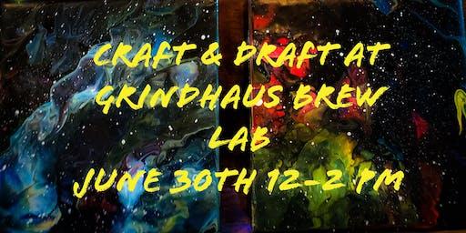 Craft and Draft: Galaxy Coasters