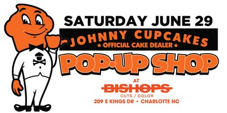 Johnny Cupcakes at Bishops Cuts & Color Midtown tickets