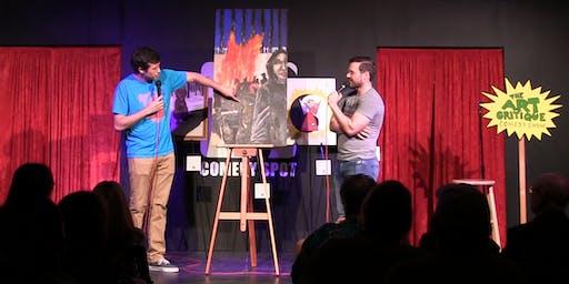 The Art Critique Comedy Show (SACRAMENTO 07.13.19)