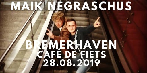 Maik Negraschus - Aufbruch Tour 2019 - Bremerhaven