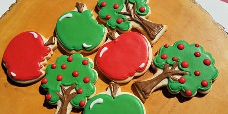 Apple  Orchard Cookie Class with a Free Drink! tickets