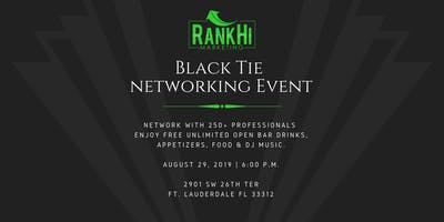 RankHi Marketing - Black Tie Networking Event