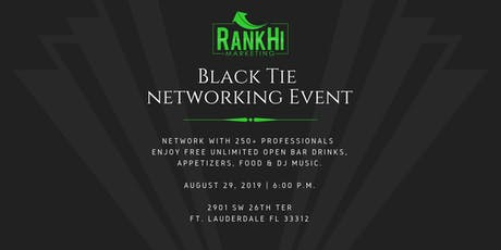 RankHi Marketing - Black Tie Networking Event  tickets