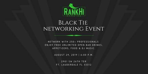 RankHi Marketing 4th Annual Black Tie Networking Event