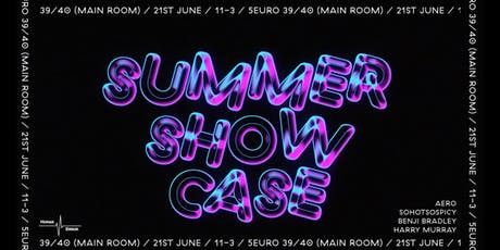 Human Error: Summer Showcase at 39/40 tickets