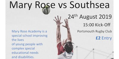Mary Rose Academy Fundraising Rugby Match