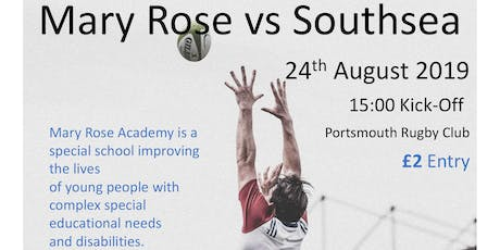 Mary Rose Academy Fundraising Rugby Match tickets